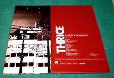 Thrice Artist In The Ambulance vinyl LP NEW sealed