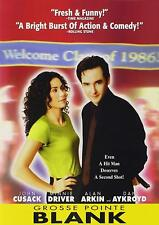 Grosse Pointe Blank Dvd 1998 John Cusack Minnie Driver gross point Movie Widesc