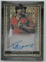 2020 Topps Tribute Xander Bogaerts Iconic Perspectives Auto Signed Card SP #7/80