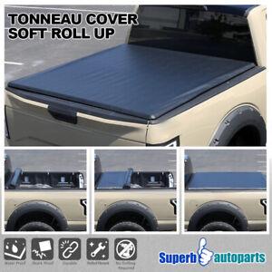 "For 2015-2019 Silverado / Sierra 1500 2500 3500 6'6"" Bed Roll Up Tonneau Cover"