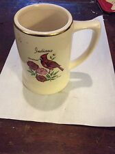 Vintage Mug T&J Pottery Cardinal Made in the USA #701