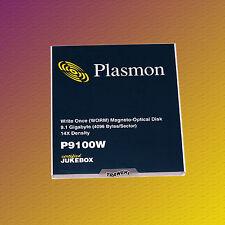 "Plasmon P9100W, 5,25"" MO Disk, 9,1 GB, Data Cartridge Datenkassette, NEU & OVP"