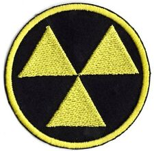 Radioactive Radiation applique patch Iron or Sew on Patch