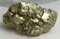 Gorgeous pyrite crystal cluster specimen, Peru 2.9lbs!!!  AAA fools gold!!