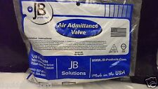 """New JB Products PVC Air Admittance Valve 1 1/2"""" AAV 6 DUF Solvent Weld Vent AB"""