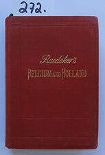 Baedeker Belgium and Holland 1901 (W.)