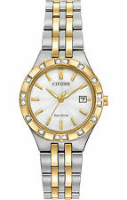 Citizen Watch - Womens Eco-Drive Silhouette Diamond Collection - EW2334-51A