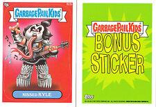 2013 Garbage Pail Kids Brand New Series 3 (BNS3) Bonus Sticker-KISSED KYLE- B23b