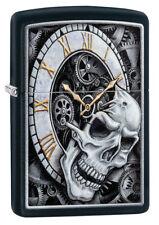 Zippo Lighter ⁕ Skull Clock ⁕ 60004591 ⁕ Neu New OVP ⁕ A1313