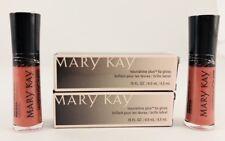Set Of 2 Mary Kay PINK LUSTER Nourishine PLUS Lip Gloss 047941 Black Box