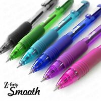 Zebra Z-Grip Smooth - Retractable Ballpoint Pen - 6 Pack