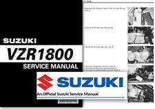 Suzuki VZR1800 Intruder Boulevard Workshop Service Shop Manual M1800R M109R