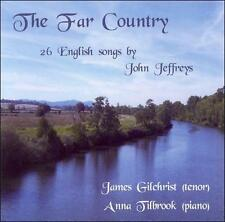 The Far Country: 26 English Songs by John Jeffreys, New Music