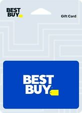 Best Buy Gift Card Valued @ $25, $30, $50, $100 *You Choose