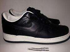 Nike Air Force 1 One AF1 Supreme '07 QK Hiroshi HTM Fragment Croc Size 8 Black