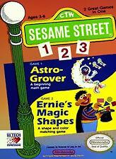 SESAME STREET 1 2 3 123 NINTENDO GAME ORIGINAL NES HQ