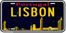 Lisbon Portugal Aluminum Novelty Car Tag License Plate P01