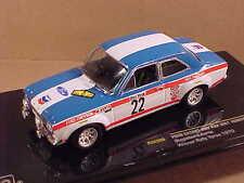 Ixo 1/43 Diecast Ford Escort MK I 1600TC, Winner 1970 Ypres Rally, #22  #RAC206