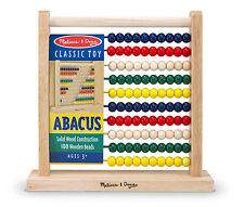 Melissa and Doug #493  0493 Abacus new sealed