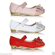 Chaussures décontractées blancs pour fille de 2 à 16 ans