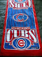 """New Chicago Cubs Beach Towel White Red and Blue """"C"""" Center"""