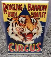 "Ringling Bros & Barnum Circus Vintage Poster 2"" x 3"" Refrigerator Magnet Image 2"