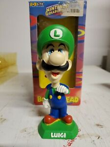 Nintendo Collectibles Luigi Mascot Bobblehead By BD&A 2001
