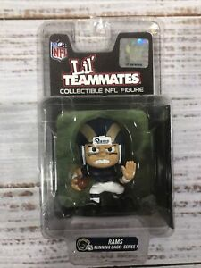 NFL LIl' Teammates Rams Running Back Series 1 Figurine Action Football Collector