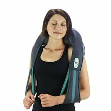 truMedic Rechargeable Shiatsu Keading Neck Shoulder Body Massager w. Heat - New