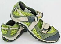 Merrell WaterPro Crystal Mary Jane Hiking Shoe, Women Sz 6, Green Tan, 840845