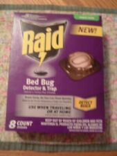 RAID BED BUG DETECTOR & TRAP- 8 COUNT IN BOX