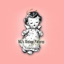Vintage Sock Doll Pattern ~ Adorable ANGEL Doll