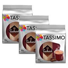 3 PAQUETES TASSIMO Suchard chocolate caliente T Discos Discos De 48 bebidas vainas - 48 T