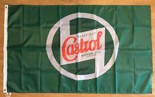 New listing Castrol Motor Oil Logo 3X5 Garage Wall Banner Flag Man Cave Free Shipping