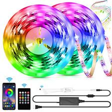 LED Strip Lights, 32.8ft Color Changing Rope Lights SMD 5050 RGB Light Strips to