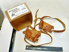 Vintage Vermont Tubbs Snow Shoe Leather Bindings