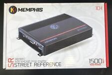 Memphis Audio 16-SRX750D.1 Mono Subwoofer AMP 1500 Watts + Bass Control Knob NEW