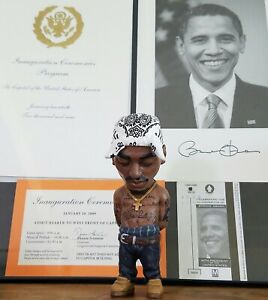 PLASTIC CELL Makavelzy Tupac 2PAC figure sculpture limited white bandana 27/200
