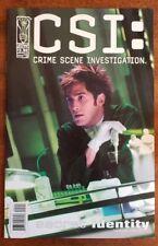 CSI: Crime Scene Investigation Secret Identity #5 IDW Comics Tony DiNozzo NM
