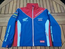 More details for genuine honda race jacket, age 12/13y, red, white & blue - new