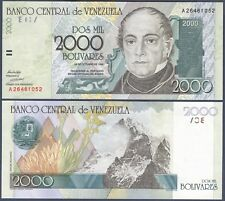 VENEZUELA P80***2000 BOLIVARES***ND 1998***UNC GEM***SEE FULL DESCRIPTION