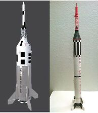 "Accur8 2-in-1 ""Skin Kit"" For Estes Little Joe II & Mercury Redstone Model Rocket"