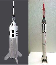 """Accur8 2-in-1 """"Skin Kit"""" For Estes Little Joe II & Mercury Redstone Model Rocket"""