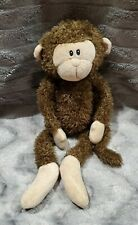 """First & Main Brown Hanging Sticky Hands Monkey Plush Stuffed Toy 14"""""""