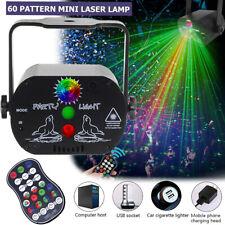 LED Laser Licht-Effekte Projektor Bühnenlicht Beleuchtung DISCO DJ Partylicht AC