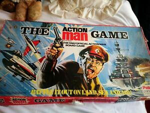 PALITOY THE ACTION MAN GAME GAME