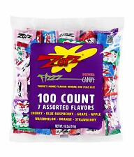 100 X Zotz Fizzy Candy Bag Assorted Flavors Grocery Gourmet Food New