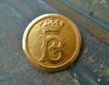 ANTIQUE HUNT BUTTON:  THE (EARL OF) BERKELEY HUNT:  HUNT SERVANT'S BUTTON