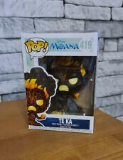 DISNEY MOANA - TE KA - (FUNKO POP! 419) NEW BOXED COLLECTABLE.