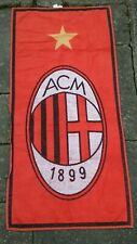 AC Milan Adidas Towel 1999/2000 Centenary Season Team Issue.  Size 135cm x 58cm.